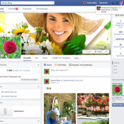 Die passenden Facebookseite zum Garten Aktuell ca. 1300 Fans