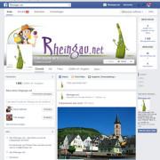 Die passenden Facebookseite zum Rheingau Aktuell ca. 1800 Fans